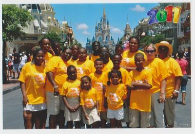 Christmon Disney Family Vacation 2011 T-Shirt Photo