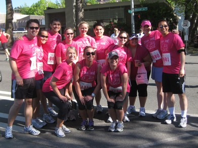 Team Jane's Race For The Cure! T-Shirt Photo