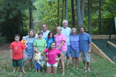 Family Week 2011 T-Shirt Photo