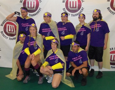 Wheeler Dodgeball Super Advocates T-Shirt Photo