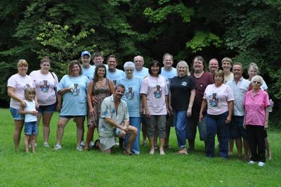 Amburgey 40th But 1st Cousin Reunion T-Shirt Photo