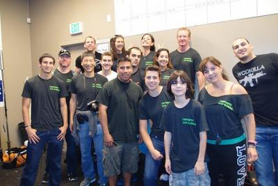 Cross Fit San Ramon Support Team!  T-Shirt Photo