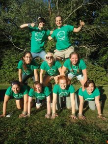 Green Eyrie Institute  T-Shirt Photo