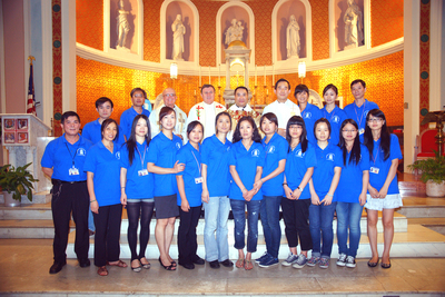 St.Joseph Of Church T-Shirt Photo