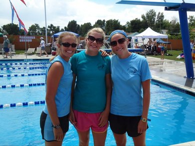 2011 Summer Swim Meet With The Lovely Coaches T-Shirt Photo