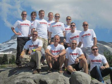 Team Polska, Hood To Coast 2011 T-Shirt Photo