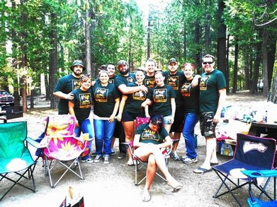 We Loved Camping... T-Shirt Photo