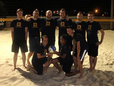 Sets On The Beach T-Shirt Photo