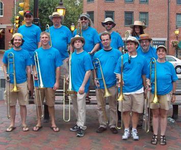 All Trombone Band T-Shirt Photo