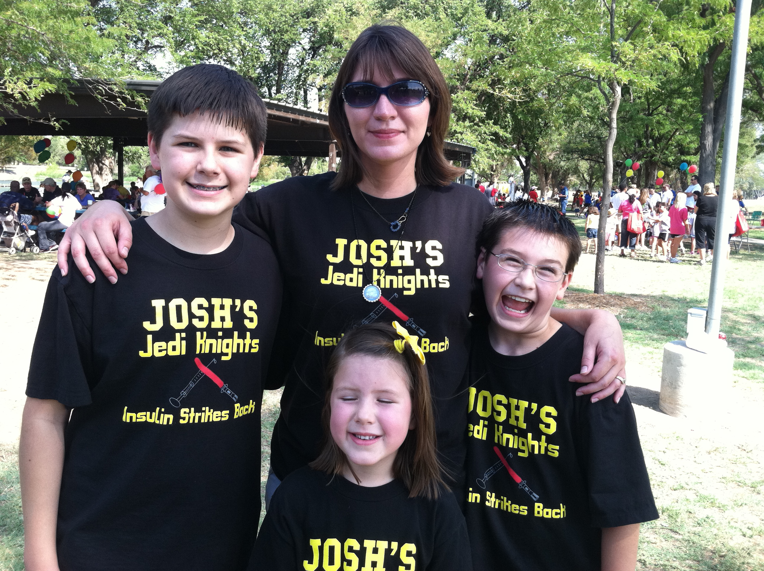 Custom t shirts for juvenile diabetes research foundation for Jdrf one walk t shirts
