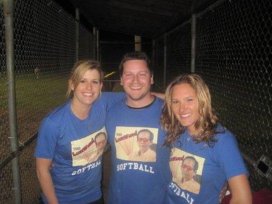 Softball In Nashville! T-Shirt Photo