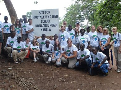 Making A Difference In Sierra Leone T-Shirt Photo
