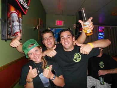 Thumbs Up For The Pub Crawl T Shirts  T-Shirt Photo