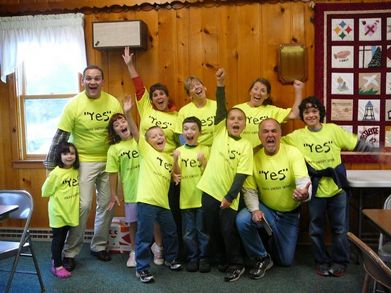 We Say Yes! To Our Kids! T-Shirt Photo