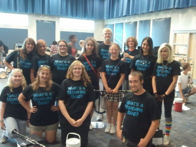 Chs	Marching Band Clarinets T-Shirt Photo