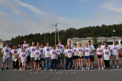 5 K Walk/Run T-Shirt Photo