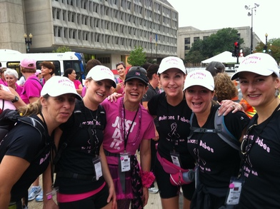 Belmont Babes   Komen 3 Day For The Cure T-Shirt Photo