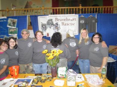 Brave Heart Pit Bull Rescue Family T-Shirt Photo