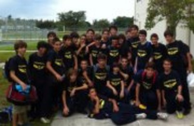2011 2012 Boys Falcon Cove Soccer Team T-Shirt Photo