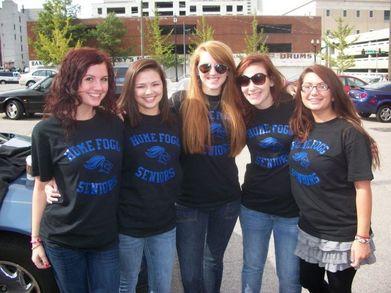Hfa Senior Girls (: 2012 T-Shirt Photo