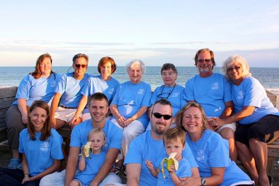 Family Fun At Holden Beach T-Shirt Photo