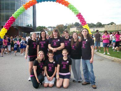 Cancer Walk 2011 T-Shirt Photo