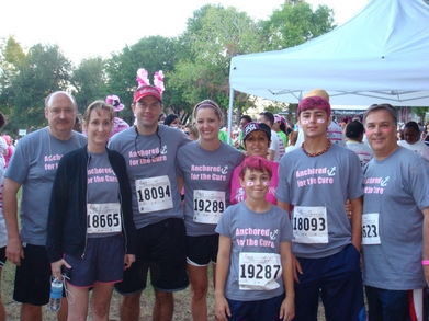 2011 Komen Houston Race For The Cure T-Shirt Photo