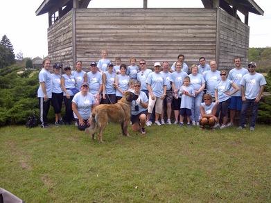 Team Barb   Free To Breathe Lung Cancer Walk Team T-Shirt Photo