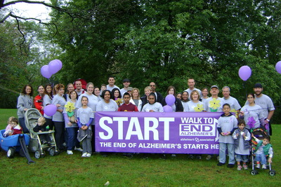 Alzheimers Walk T-Shirt Photo