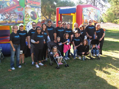 Team Jack At The Faan Walk, San Jose, Ca T-Shirt Photo