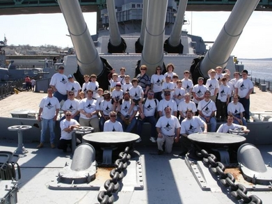2007 Battle Ship Cove T-Shirt Photo