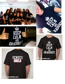 Senior Girls 2012 T-Shirt Photo
