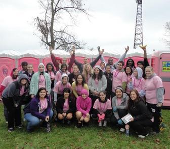 Uc My Boobies! Making Strides Breast Cancer Walk T-Shirt Photo