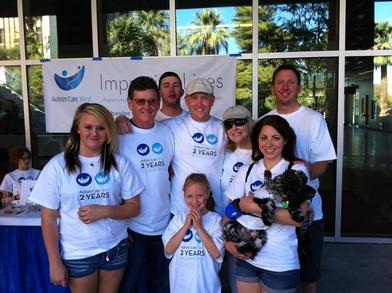 2011 Autism Speaks Walk T-Shirt Photo