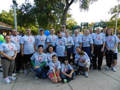 The Liver Giver Lovers Ready To Walk For Donate Life! T-Shirt Photo