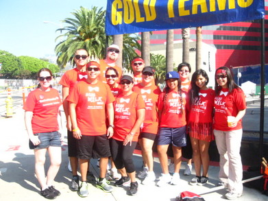 Brea Business Support Team   2011 Aids Walk Los Angeles T-Shirt Photo