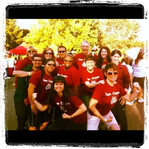 Team Cioppino Rocks The Diabetes Walk! T-Shirt Photo