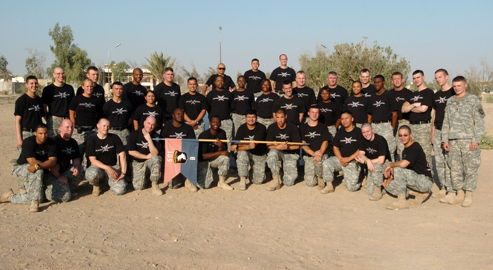 Bravo Company Black Knights T-Shirt Photo