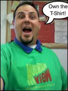 See The Church, Own The T Shirt! T-Shirt Photo