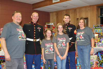 Marines Toys 4 Tots T-Shirt Photo
