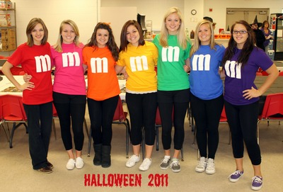 Senior Girls Rock The M & M Tee Shirts! T-Shirt Photo