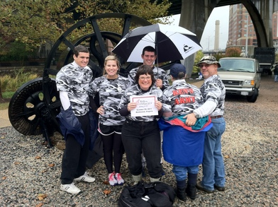 Ken's Army At The Walk To Defeat Als T-Shirt Photo