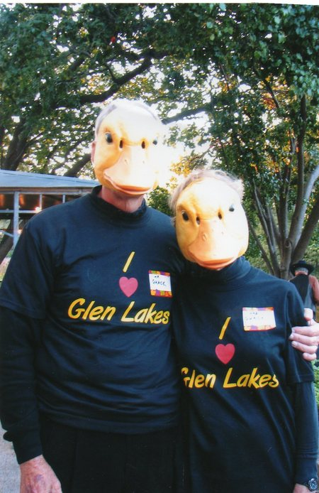 Mr And Mrs Quack T-Shirt Photo