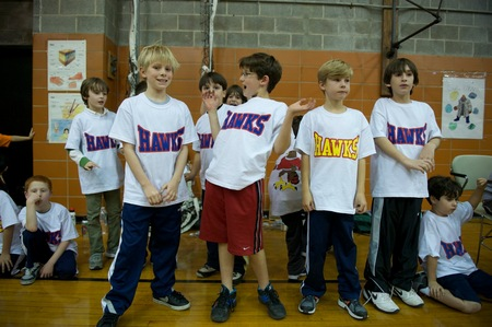 The Hawks Rocked Ny Dodgeball Tourny T-Shirt Photo