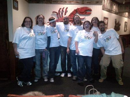 Shrimplympics 2011 T-Shirt Photo