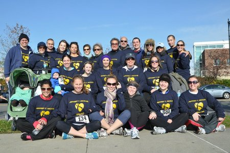 Get Your Rear In Gear Colon Cancer 5 K T-Shirt Photo