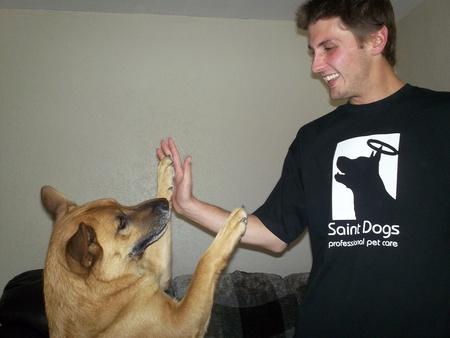 Saint Dog Likes The New Xlt's T-Shirt Photo
