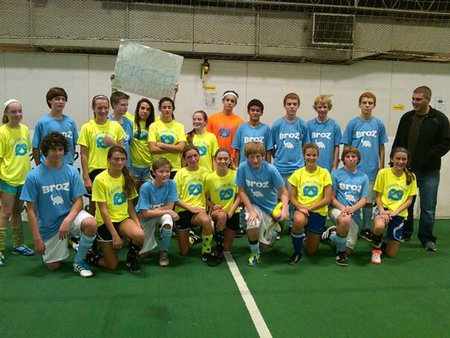 The Broz Indoor Soccer Team T-Shirt Photo