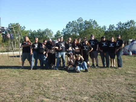 The Pirates At The Campground T-Shirt Photo