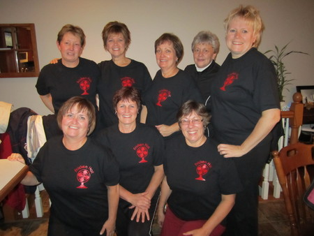 Fricken Hot Women Ready For Action T-Shirt Photo